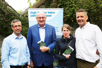 EU Commissioner Phil Hogan Visits the Burren Learning Area