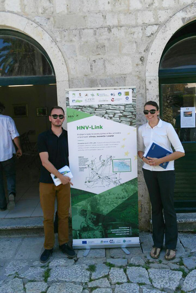 Launching HNV-Link on the Dalmatian islands